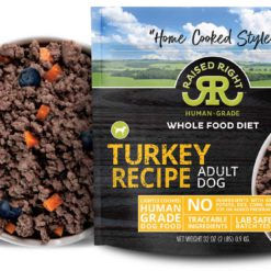 Raised Right Turkey Dog Recipe, 2 lb