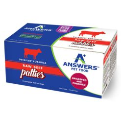 Answers Detailed Beef Raw Dog Food