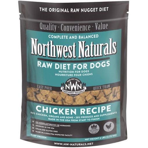 Northwest Naturals Chicken Frozen Dog Food