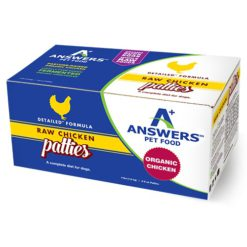 Answers Detailed Chicken Raw Dog Food