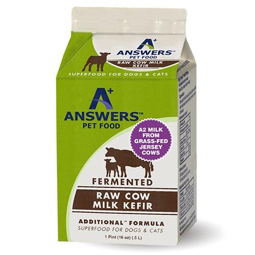 Answers Cows Milk Kefir