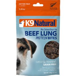 K9 Natural Beef Lung Dog Protein Bites
