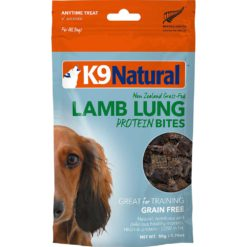 K9 Natural Lamb Lung Dog Protein Bites