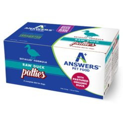 Answers Detailed Duck Raw Dog Food