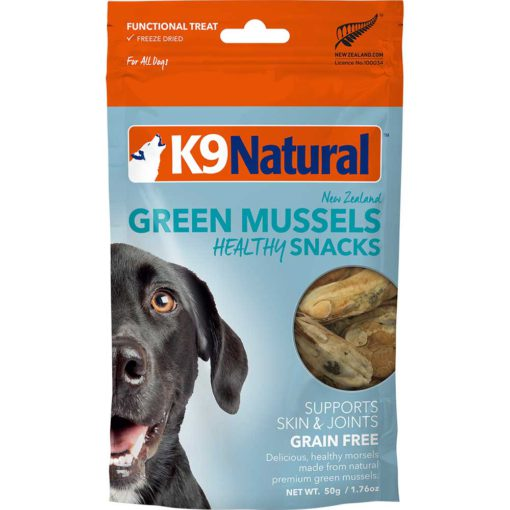 K9 Natural Green Mussels Healthy Snacks