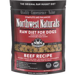Northwest Naturals Beef Frozen Dog Food