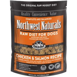 Northwest Naturals Chicken & Salmon Frozen Dog Food