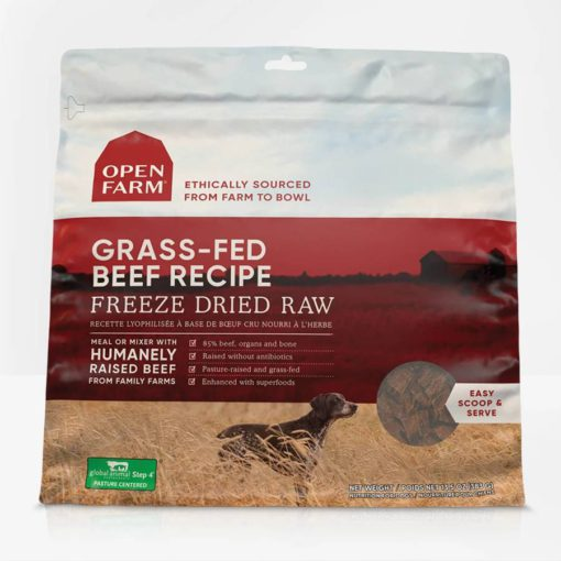 Open Farm Beef Freeze Dried Raw Dog Food
