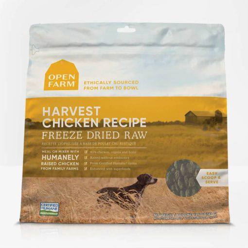 Open Farm Chicken Freeze Dried Raw Dog Food