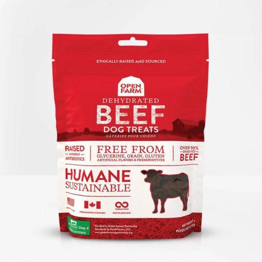 Open Farm Dehydrated Beef Treats