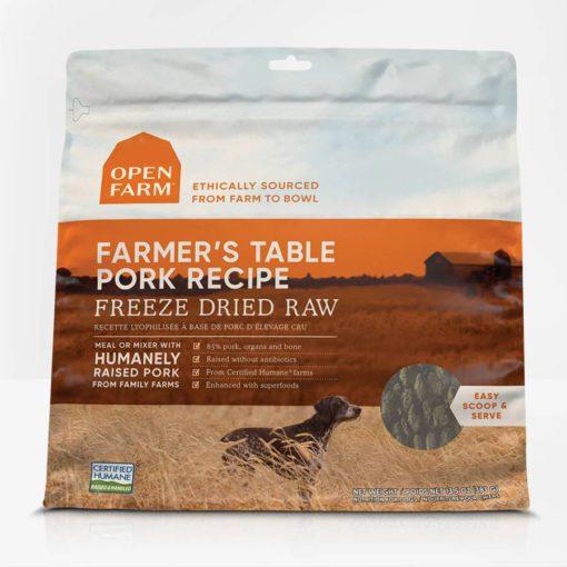 Open Farm Pork Freeze Dried Raw Dog Food