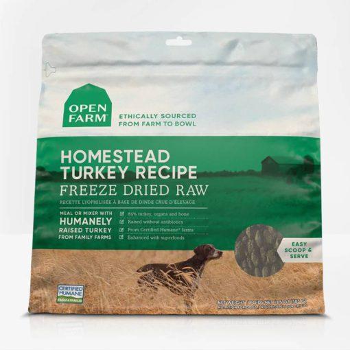 Open Farm Turkey Freeze Dried Raw Dog Food