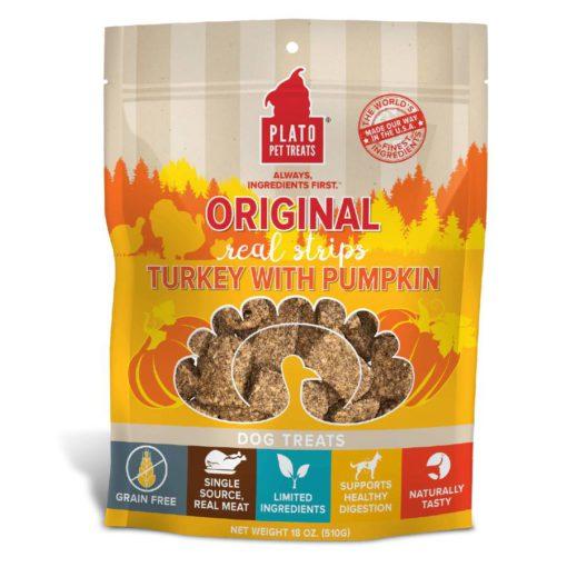 Plato Strips Turkey and Pumpkin