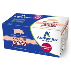 Answers Detailed Pork Raw Dog Food