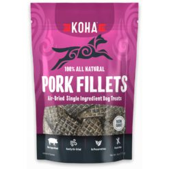 Koha Pork Fillets All Natural Treats