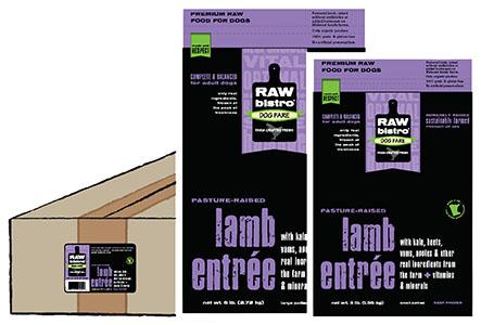 Raw Bistro Lamb Entree