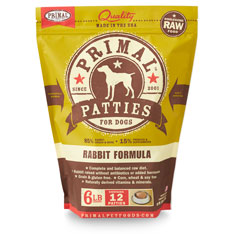 Primal Dog Rabbit Formula