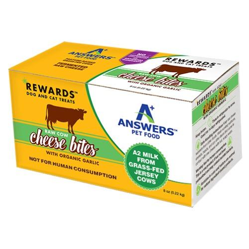 Answers Raw Cow Cheese Treats Garlic