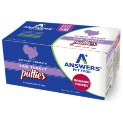 Answers Detailed Turkey Raw Dog Food