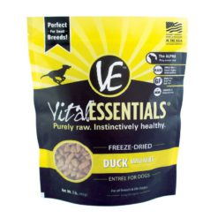 Vital Essentials Duck Mini Nibs Freeze-Dried Dog Food