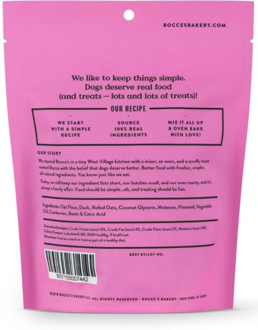Bocce's Bakery Duck Soft & Chewy Treats