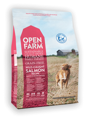 Open Farm Wild Salmon Dry Dog Food