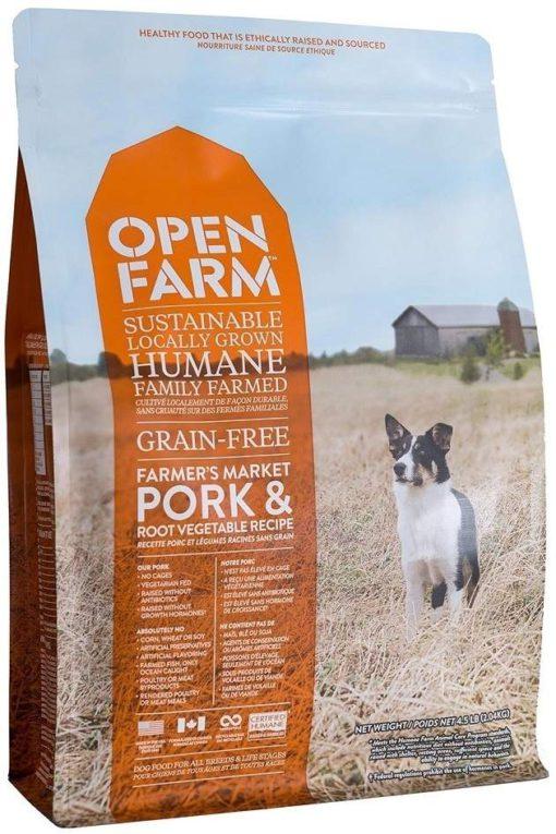 Open Farm Farmer's Table Pork Dry Dog Food