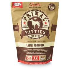 Primal Dog Lamb Formula
