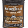 Northwest Naturals Bison & Beef Frozen Dog Food