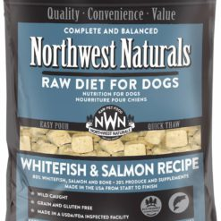 Northwest Naturals Whitefish & Salmon Frozen Dog Food