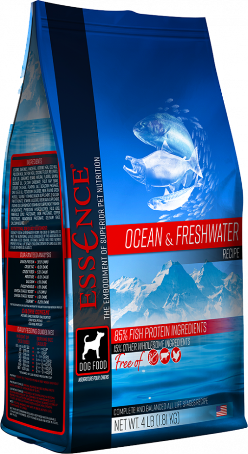 Essence Grain Free Ocean & Freshwater Recipe Dry Dog Food