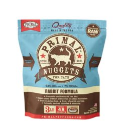 Primal Raw Frozen Cat Food Rabbit