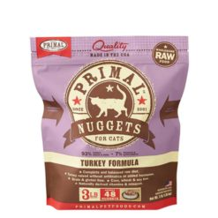 Primal Raw Frozen Cat Food Turkey