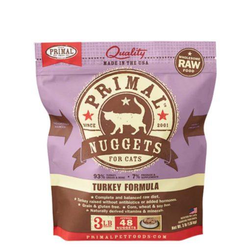 Primal Raw Frozen Cat Food Turkey