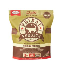 Primal Raw Frozen Cat Food Venison