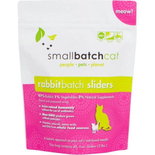 SmallBatch Cat Raw Frozen Rabbit