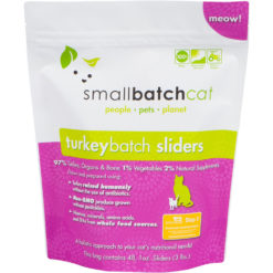 SmallBatch Cat Frozen Raw Turkey