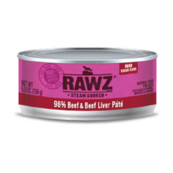 RAWZ Beef & Beef Liver Wet Cat Food