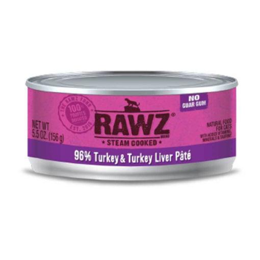 RAWZ Turkey & Turkey Liver Wet Cat Food