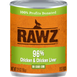 Rawz Chicken And Chicken Liver Wet Dog Food