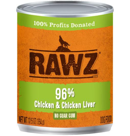 Rawz Chicken And Chicken Liver Wet Dog Food