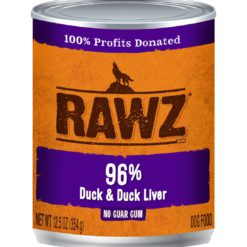Rawz Duck And Duck Liver Wet Dog Food