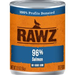Rawz Salmon Wet Dog Food
