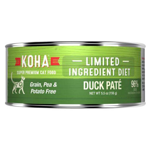 Koha Limited Ingredient Duck Wet Cat Food