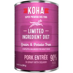 KOHA L.I.D. Pork Wet Food For Dogs