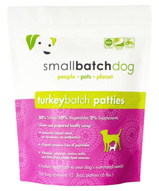 SmallBatch Turkey Raw Dog Food