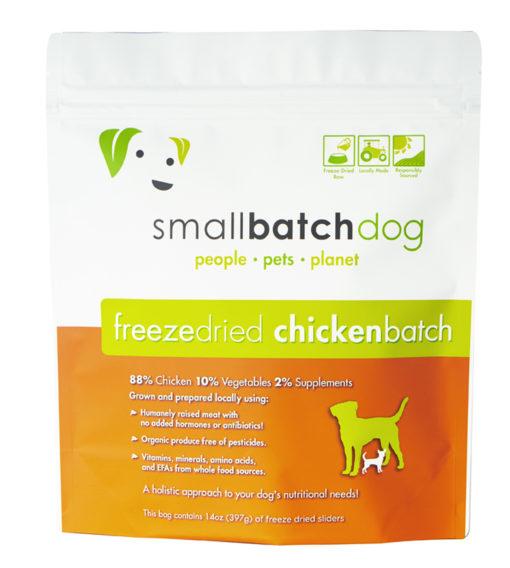 SmallBatch Chicken Raw Dog Food
