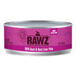 RAWZ Duck & Duck Liver Wet Cat Food
