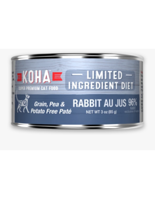 Koha Limited Ingredient Rabbit Au Jus Wet Cat Food