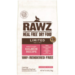 Rawz Limited Ingredient Wild Caught Salmon Recipe